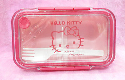 Hello Kitty Outside Bento Microwave Oven Lunch Box Pink For