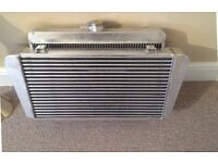 Radtec intercooler and radiator for cosworth MK1 Escort