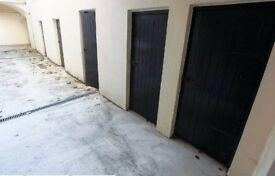 storage unit in secure block of flats to rent
