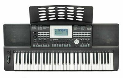 Deluxe Portable Keyboard - 61 Full Size Keys - Touch Respons