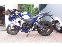 WK SP250 2015 motorbike - Like new - 4500 miles on clock.