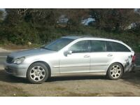Mercedes C220 Elegance 2004 diesel auto estate only 112k!