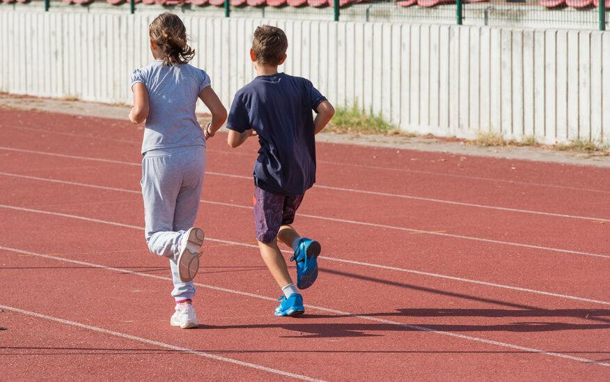 Bequemes Laufen für Kids mit Nike Air