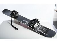 Brand new snowboard and bindings