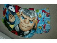Avengers cot bed toddler bedding