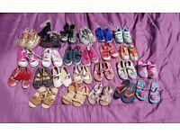 Young Girl's Shoe Bundle size 7-9