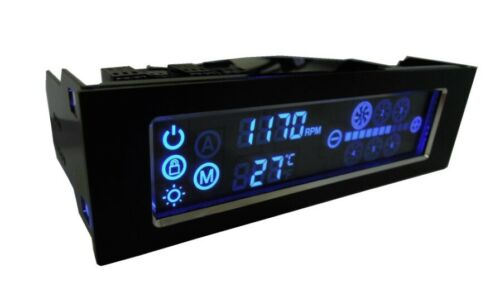 NIB Gelid Solutions Speed Touch 6, LCD Touch Screen, 6 x PC Fan Speed Controller
