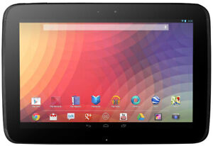 Samsung Google Nexus 10.1 Wifi 32gb Android Tablet Gt-p8110 Used