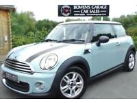 2013 63 MINI HATCH ONE 1.6 ONE 3D (SPORT/CHILLI) - 1 LADY OWNER - FULL BMW S/H