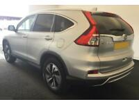 2015 SILVER HONDA CR-V 1.6 1-DTEC 160 EX 4WD DIESEL ESTATE CAR FINANCE FR £67 PW