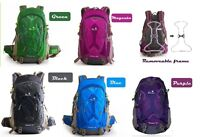 35L Brand-new School Hiking Backpack for Man   Blue