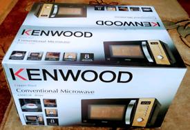 KENWOOD - K20MCU20 Solo Microwave - Black & Copper