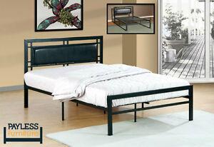 NEW Queen size Bed! ★ Metal platform ★ Can deliver