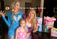 Animation en Princesse pour fêtes d'enfants 80$ 1h