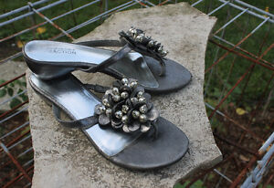Jewelled Sandals - Size 6