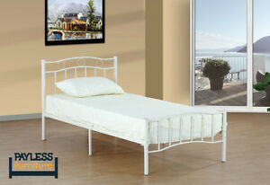 NEW Bed! ★ Twin/Single ★ Metal platform ★ Can Deliver