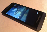 BLACKBERRY Z10 WITH CHARGER AND CASE - TELUS/KOODO