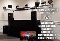 Geo Music Services...Wedding, Party and Karaoke Services