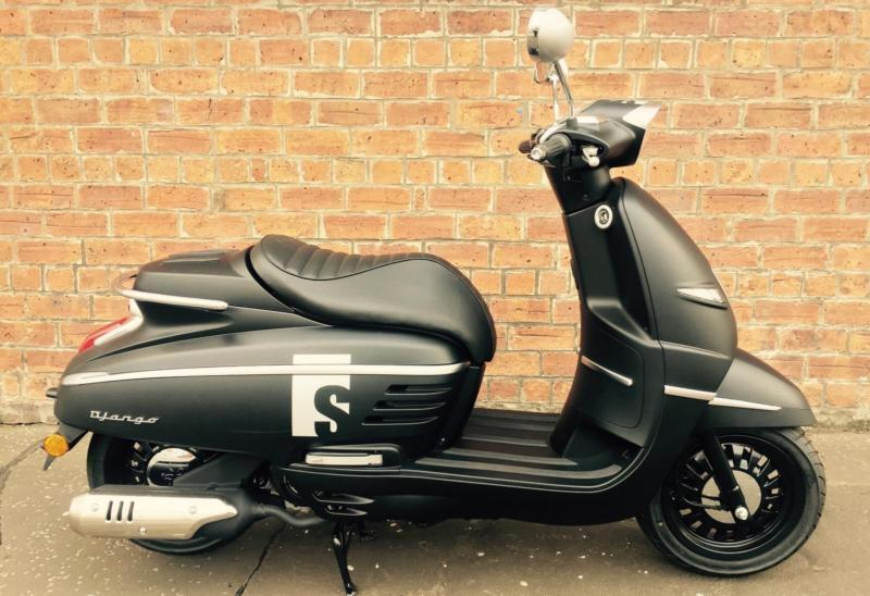 peugeot django sport 125 learner legal own this scooter for only a week in southside. Black Bedroom Furniture Sets. Home Design Ideas