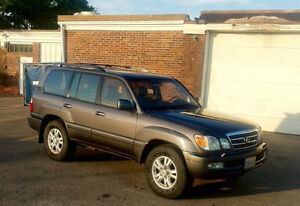 Clean 2003 Lexus LX 470/Land Cruiser