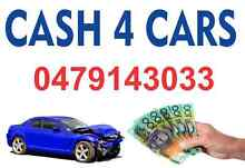 FREE  REMOVAL OF ALL VEHICLES AND CASH FOR UNWANTED CARS. Penrith Penrith Area Preview