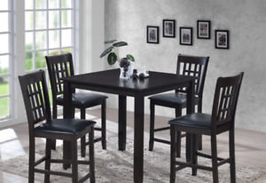 Hardwood Counter Height Dining Set-New-Taxes/ Delivery Included!