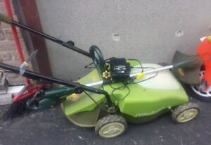 Lawn mower - ELECTRIC -WHIT-CHARGER