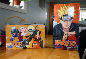 Naruto Box Sets 2 & 3
