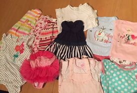 Baby Girl Clothes Bundle Size 6-9 Months