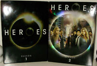 HEROE 'S COMPLETE SEASON 1 AND 2 AMAZING CONDITION VIEWED ONCE