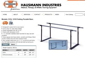 Hausmann Parallel Therapy / Exercise  Bars