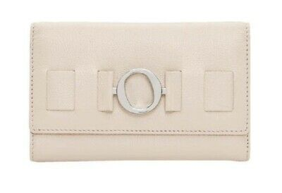 OROTON WALLET ORNAMENT HIGHFOLD IVORY Purse RRP$195 Clearance Sale (Oroton Sales)