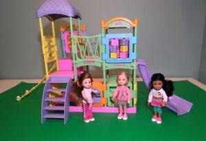 Toy Jungle Gym with Small Dolls