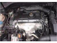 Vw BKD Engine Complete