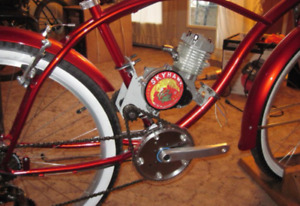 Motorized bike outfitter! Your frame, specialty frames etc.