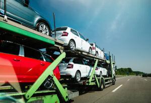 Shipping car across Canada