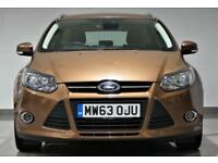 Ford Focus 1.6TDCi ( 105ps ) ( 99g ) ECOnetic 2014 ZETEC - ESTATE- FINANCE - PX