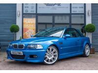 2002 BMW M3 3.2 2DR CONVERTIBLE INDIVIDUAL CONVERTIBLE PETROL
