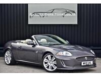 2010 Jaguar XKR 5.0 V8 Supercharged Convertible * Pearl Grey + Ivory + Special*