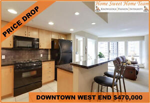HUGE PRICE REDUCED LUXURY 2 BED 2 BATH DOWNTOWN CALGARY CONDO