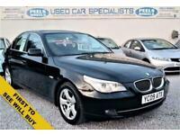 2009 09 BMW 5 SERIES 3.0 525D SE * 5 DOOR * SALOON * TURBO DIESEL * 530D