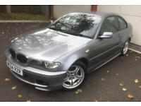 BMW 3 SERIES 318CI SPORT 2004 Manual 93000 Petrol Grey Petrol Manual in Grey