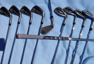 Callaway XR Pro irons 3-PW, AW and MD3 56* wedge. MRH stiff