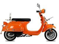 AJS Modena 50cc 50 Retro Moped learner legal full warranty