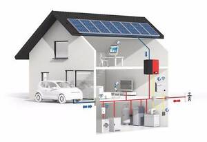 Large solar system with batteries for your home Bungalow Cairns City Preview