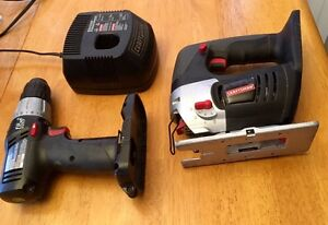 Craftsman Drill, Jigsaw, Charger. 19.2 V Peterborough Peterborough Area image 2