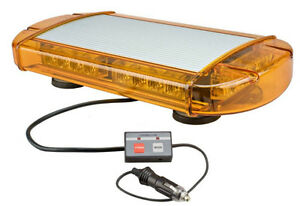 Low Profile Gen III LED Mini- Light Bar Amber