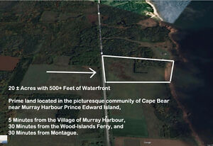 20 Acres ± Waterfront Land for Sale by Owner