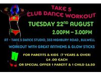 CLUB DANCE WORKSHOP