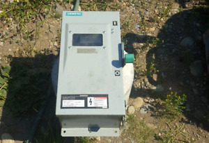 Siemens fusible disconnect
